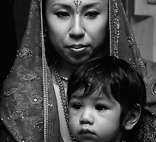Mother & Son by Andrew Kalpage
