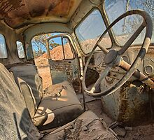 Abandoned Truck by William Bullimore