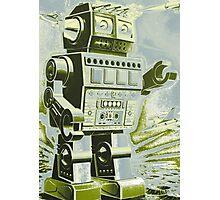 Robot Pop Art Photographic Print