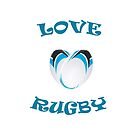 Heart shaped rugby by serj92