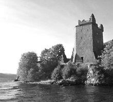 Urquhart Castle Loch Ness by Paul Madden