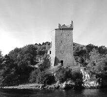 Urquhart Castle Loch Ness Scotland by Paul Madden