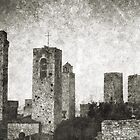 San Gimignano by Mike Crawford