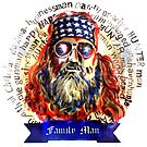 Family Man - Willie Robertson of Duck Dynasty by uberdoodles