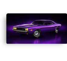 Dodge Challenger Hemi - Shadow Canvas Print