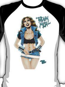 Thrash Metal Chick Pinup T-Shirt