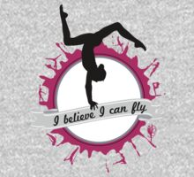 I believe I can fly - Gymnastics by Janelle Wourms