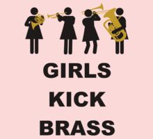 Girls Kick Brass by FrenchHornGirl