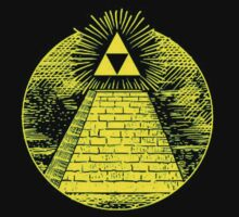 Triforce pyramid by Sasuune