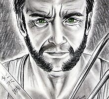 Hugh Jackman, THE Wolverine by jos2507