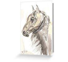 Horse Thomas my love Greeting Card