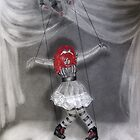 All Strung Up; Human Marionette by Elizabeth Aubuchon