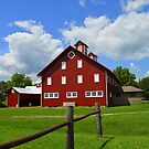 Ohio Barn by Debbie  Maglothin