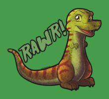 Tyrannosaurus Rawr! by Jordan McDonald
