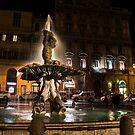 Rome's Fabulous Fountains - Fontana del Tritone by Georgia Mizuleva