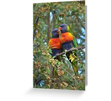 Two's company.. Greeting Card