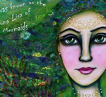 Mona Lisa Mermaid by Melissa Underwood