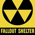 Fallout Shelter Sign by warishellstore