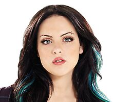 Elizabeth Gillies (Jade West) iPhone Case by nylondesigns