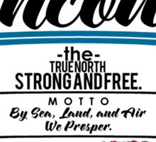 Vancouver Canada Sticker