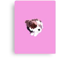 Pink Puppy Canvas Print