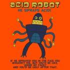 Acid robot - he sprays acid! -- colour by DiabolickalPLAN