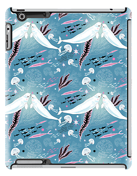 narwhal whale lovers by Tanor