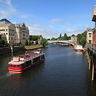 River Ouse, York. by John Dalkin