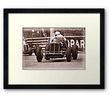 Grand Prix Historique de Monaco #4 Framed Print