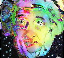 Albert Einstein by themighty