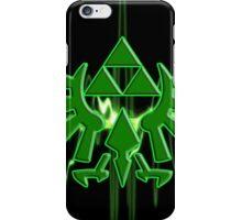 GREEN TRIFORCE iPhone Case/Skin