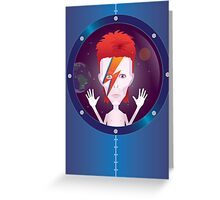 Ziggy Stardust Greeting Card
