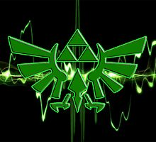 GREEN TRIFORCE by NexusGraphics