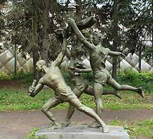 Athletes sculpture by mrivserg
