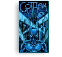 Guardian of Gotham Canvas Print