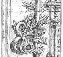 Batalha Monastery stone work detail by terezadelpilar~ art & architecture