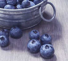 Vintage Blueberries by Edward Fielding