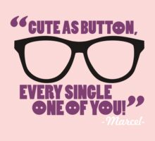 cute as a button, every single one of you by nadievastore