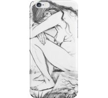 Sorrow (After Vincent Van Gogh) iPhone Case/Skin