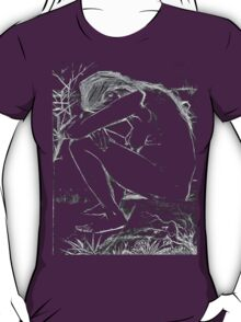 Sorrow (After Vincent Van Gogh) T-Shirt