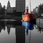Canning Dock light ship, Liverpool by Paul Madden