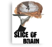 Slice Of Brain Canvas Print