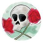 Skull 'n Roses by BloodyFace