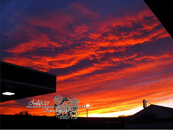 january 5 2011  sunrise by LoreLeft27