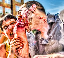 Two Zombies Eat a Foot by Noam  Kostucki