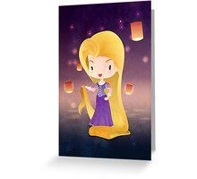 Rapunzel Greeting Card