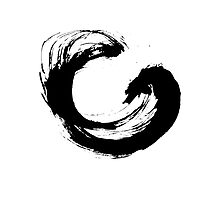 Enso 3 Photographic Print
