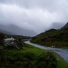 Ireland, Blue and grey as a storm approaches. by Grace Johnson