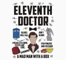 Eleventh Doctor (Black Writing) by BethTheKilljoy