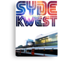 Syde Kwest Legion. Canvas Print